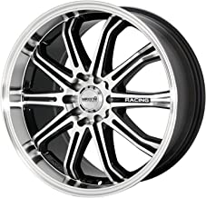 Maxxim Ferris Black Wheel with Machined Face (16x7