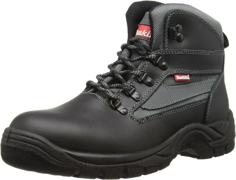 Makita Men's Anjo Boots, Black, 7 UK