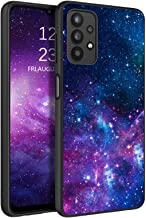 BENTOBEN Galaxy A32 5G Case, Samsung A32 Phone Case, Slim Fit Glow in The Dark Shockproof Drop protective Hybrid Hard PC Soft TPU Bumper Girl Women Boy Cover for 2021 Galaxy A32 6.5 Inch,Nebula/Galaxy