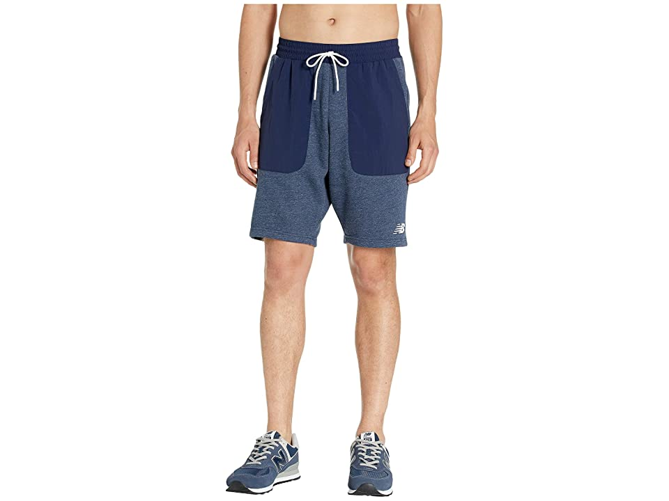 New Balance Modern Fleece Shorts (Pigment Heather) Men