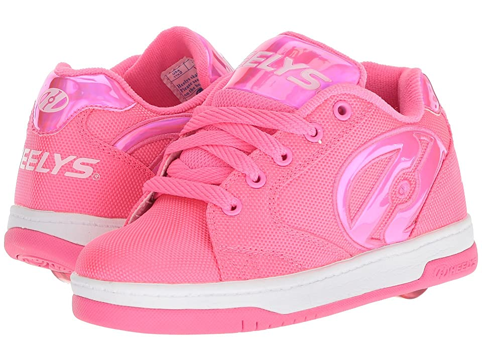 Heelys Propel 2.0 Ballistic (Little Kid/Big Kid/Adult) (Hot Pink Ballistic/Hot Pink Hologram) Girls Shoes