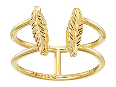 Alex and Ani Feather Ring (14KT Gold Plated) Ring