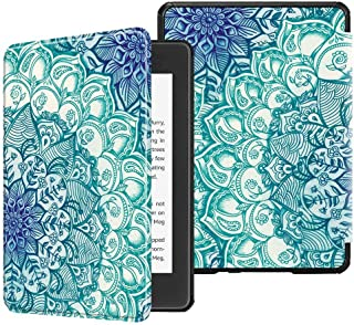 TERSELY Kindle Paperwhite Case Cover (10th Generation-2018), Smart Shell Cover with Auto Sleep/Wake Feature for Kindle Paperwhite 10th Gen 2018 Released (Emerald Green)