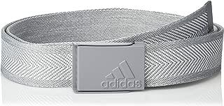 adidas white golf belt