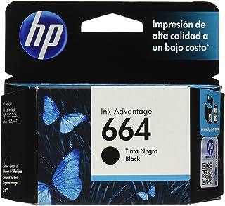 HP Cartucho Original de Tinta Negra 664 Advantage (F6V29AL)