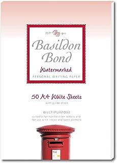 Basildon Bond Duke Writing Pad A4 90gsm 50 Sheets - Colour: White