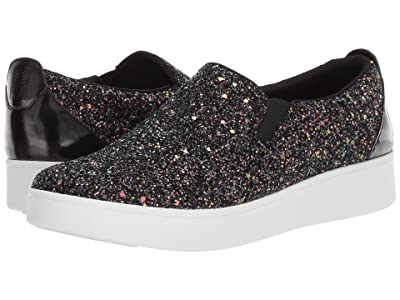 FitFlop Sania Skate (Black Mix Glitter) Women