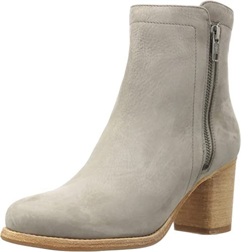 FRYE damen& 039;s Addie Double Zip Ankle Stiefel, grau, 10 M US