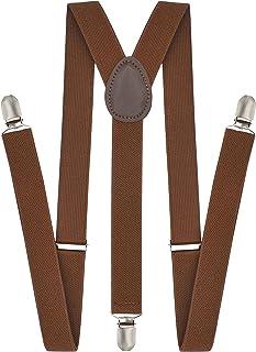 سیستم تعلیق Trilece برای مردان بزرگسالی - قابل تنظیم الاستیک Y Back Style Suspender