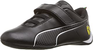 PUMA 中性儿童法拉利未来猫*魔术贴儿童运动鞋