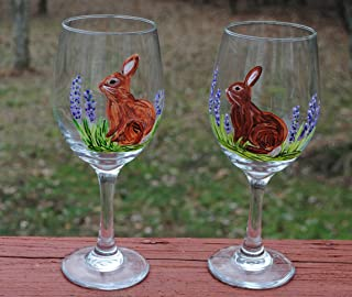 Best bunny wine glasses Reviews