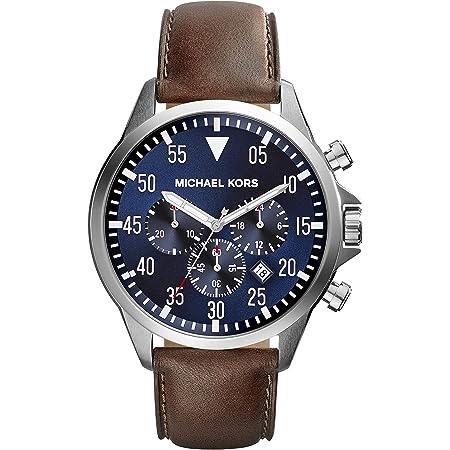 [マイケルコース] 腕時計 メンズ MICHAEL KORS MK8362 ブラウン/ブルー [並行輸入品]