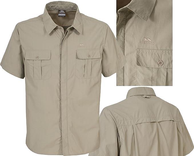 Trespass Ascend - Camisa, Color Gris, Talla XS : Amazon.es: Ropa