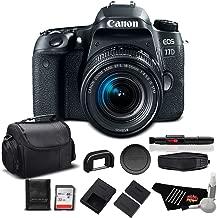 Canon EOS 77D DSLR Camera with 18-55mm Zoom Lens 24.2 MP CMOS - Standard Bundle - International Version