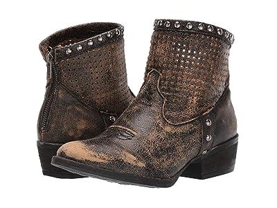 Corral Boots Q5074 (Black) Cowboy Boots