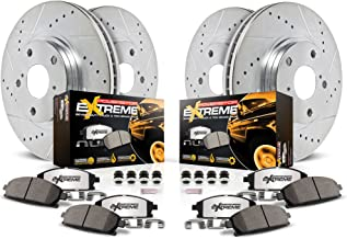 Power Stop K2847-36 Z36 Truck & Tow Front and Rear Brake Kit