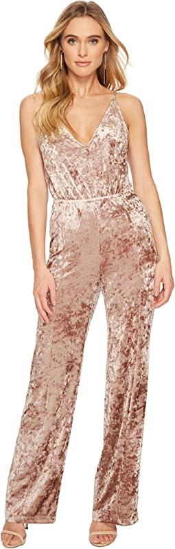 BB Dakota - Cassandra Crushed Velvet Jumpsuit
