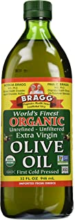 Bragg Organic Extra Virgin Olive Oil, 32 Ounce