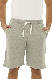 Men's Casual Cotton Elastic Active Jogger Gym Shorts with Pockets