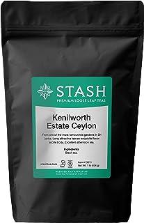 Stash Tea Kenilworth Estate Ceylon Black Loose Leaf Tea 16 Ounce Pouch Loose Leaf Premium Black Tea for Use with Tea Infus...