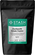 Stash Tea Kenilworth Estate Ceylon Black Loose Leaf Tea 16 Ounce Pouch Loose Leaf Premium Black Tea for Use with Tea Infusers Tea Strainers or Teapots, Drink Hot or Iced, Sweetened or Plain