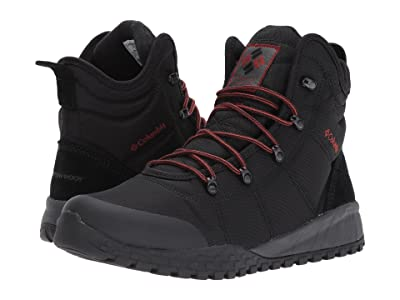 Columbia Fairbanks Omni-Heat (Black/Rusty) Men