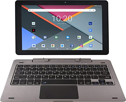 $89 Get Astro Tab G10 10 Inch Quad Core Android 8.1 Tablet PC with Detachable Keyboard, HD IPS Display 1280 x 800, 1GB RAM, 16GB Storage, Bluetooth 4.0, 10 inch Screen, Google Play (GMS & FCC Certified)