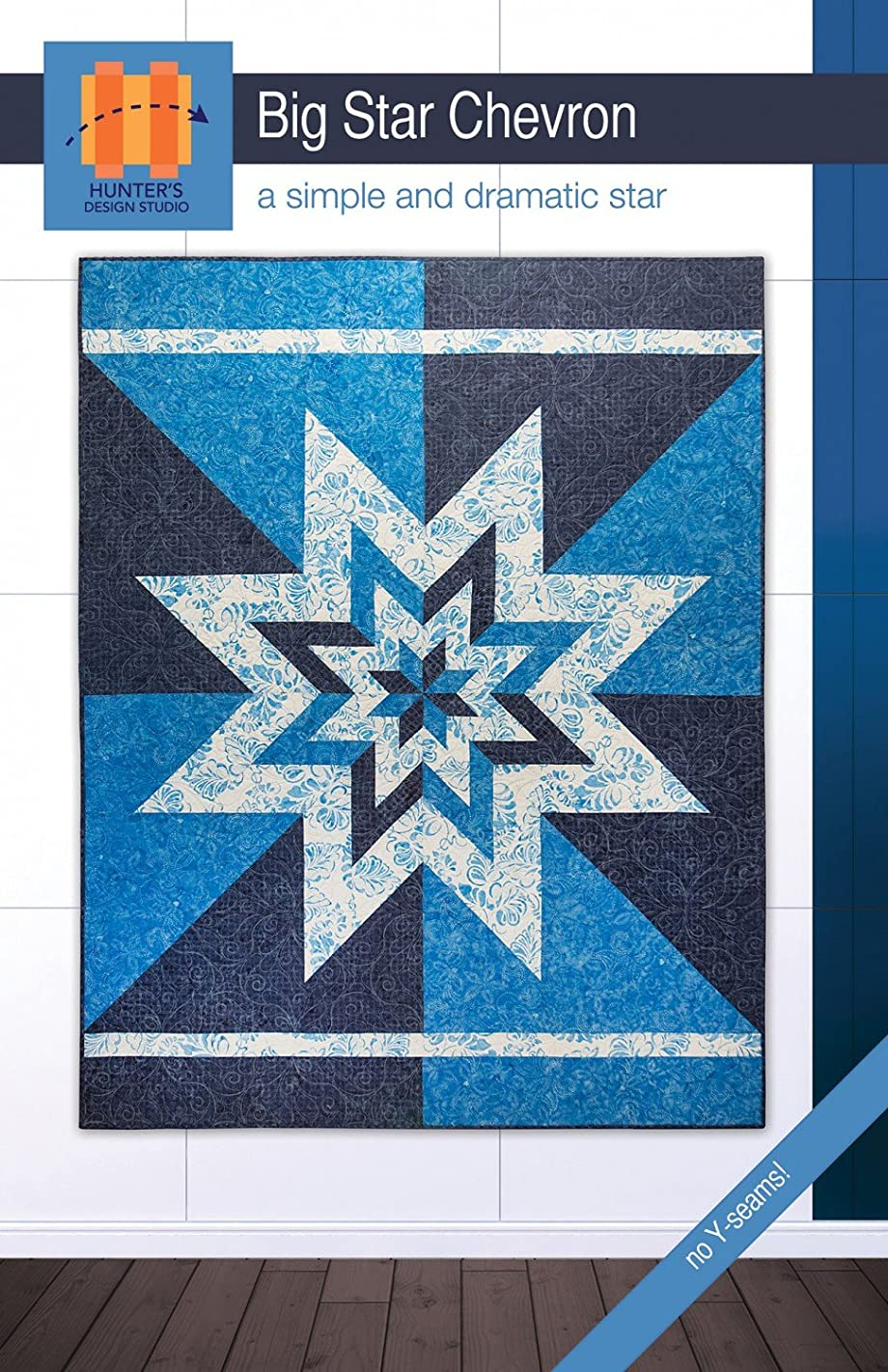 Hunter's Design Studio Big Star Chevron Quilt Pattern