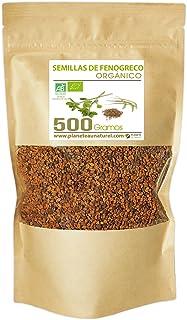 Semillas de Fenogreco Orgánico - 500g - Trigonnella foenum-