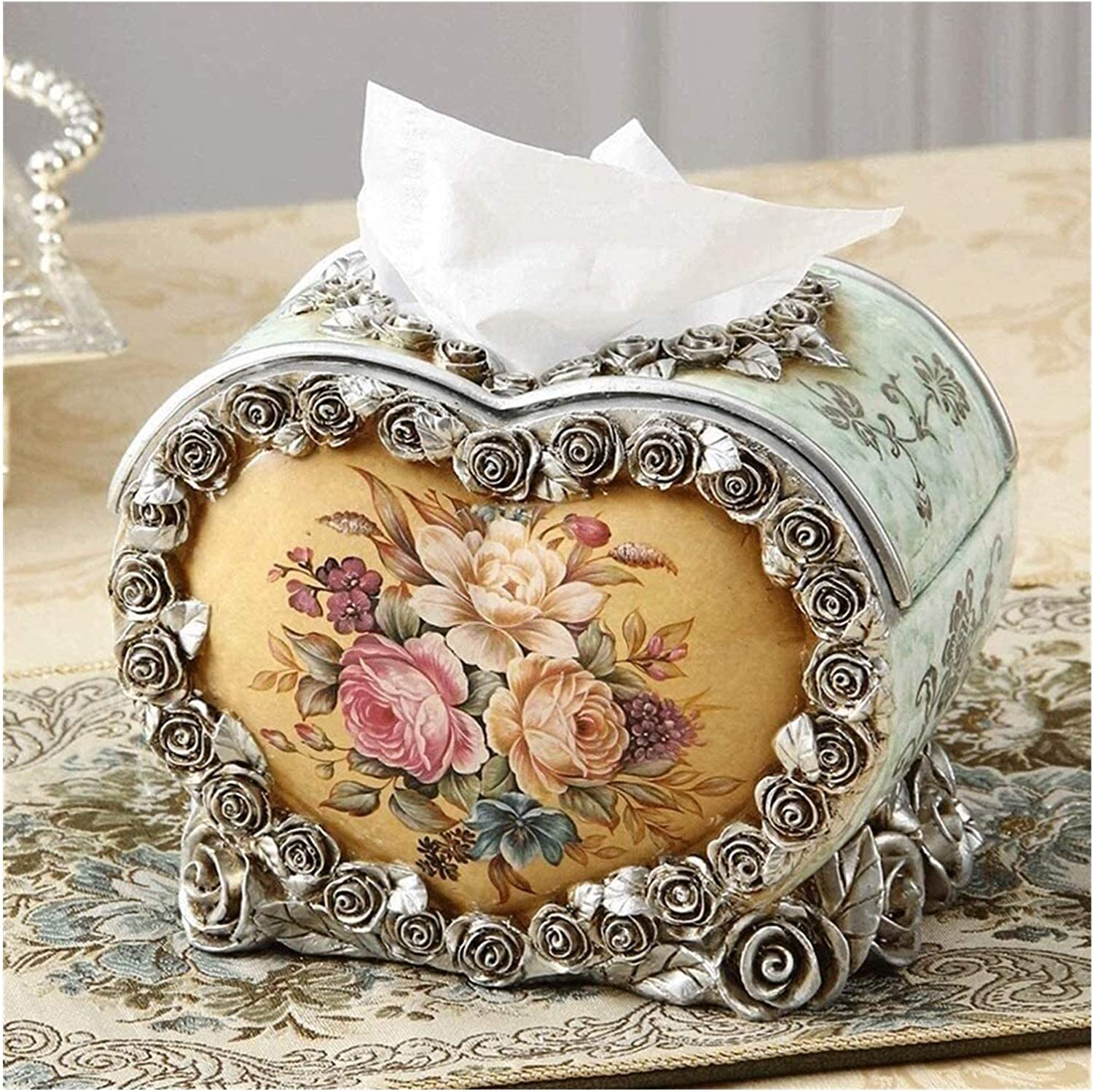 High-End Resin New Shipping Free Cheap mail order shopping Vintage Napkin Holder Cr Home Facial Paper