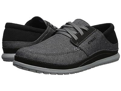 Crocs Santa Cruz Playa Lace (Slate Grey/Light Grey) Men