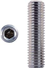 10 stuks schroefdraadpennen M1,6 X 3 tot M20 X 140 met binnenzeskant en kegelkop DIN 913 roestvrij staal A2 Inbussleutel. ...