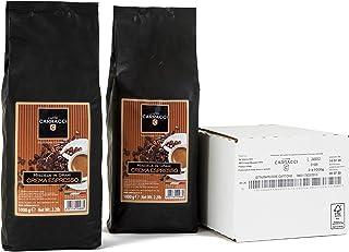Caffè Carracci Crema Espresso Miscela Vending - 2 Confezioni da 1 kg, Totale 2 kg
