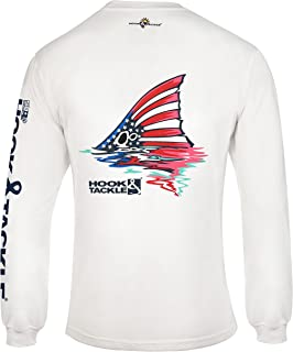 Hook & Tackle® Men's American Redfish | Long Sleeve | UV Sun Protection | Performance Fishing Shirt