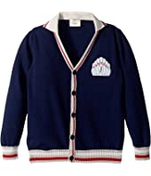 Fendi Kids - Bowling Pin Cardigan (Little Kids)