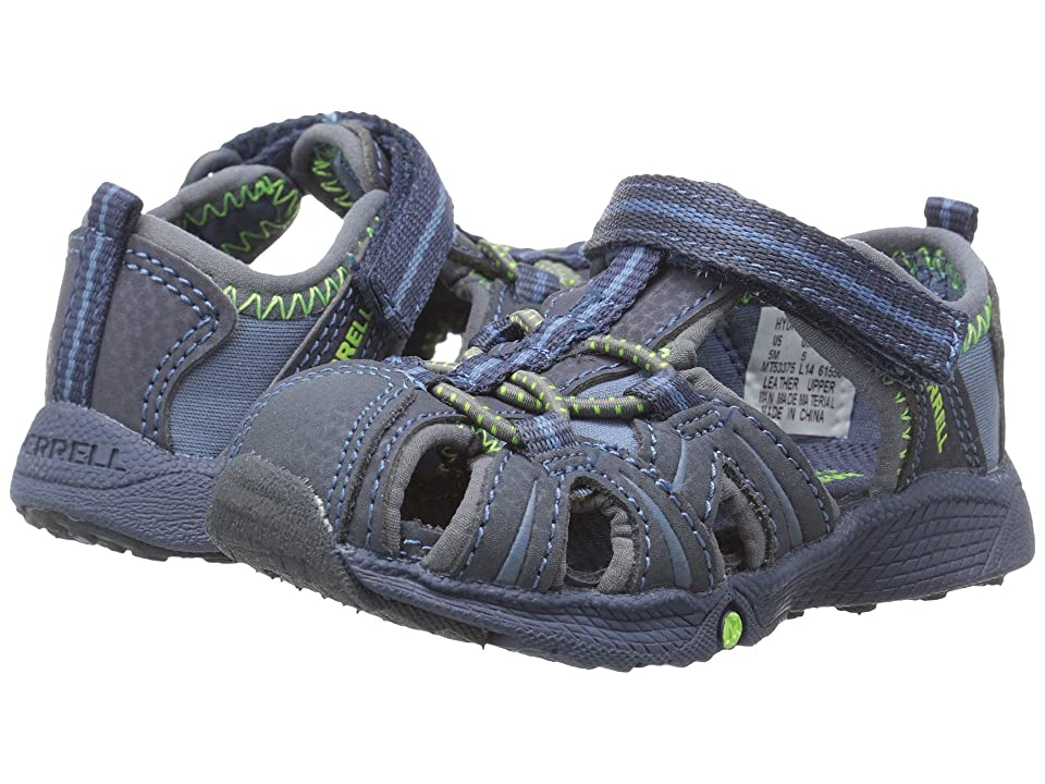 Merrell Kids Hydro Junior (Toddler) (Navy/Green) Boys Shoes