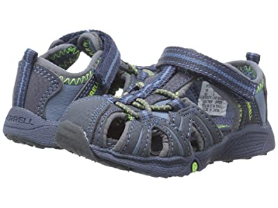 Merrell Kids Hydro Junior (Toddler) (Navy/Green) Boys Shoes