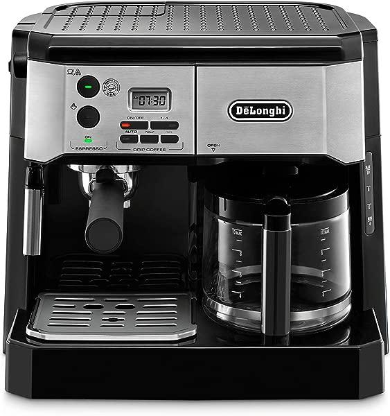 De Longhi BCO430BM Combination Pump Espresso And 10c Drip Coffee Machine With Advanced Cappuccino System