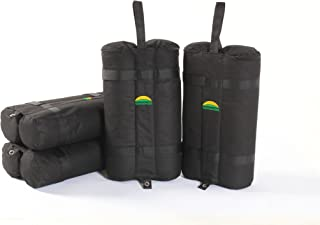 Weight Bag 4 Sets Easy Portable Premium Canopy Tent Sand Bags 4 pack, Instant Legs, 40lbs