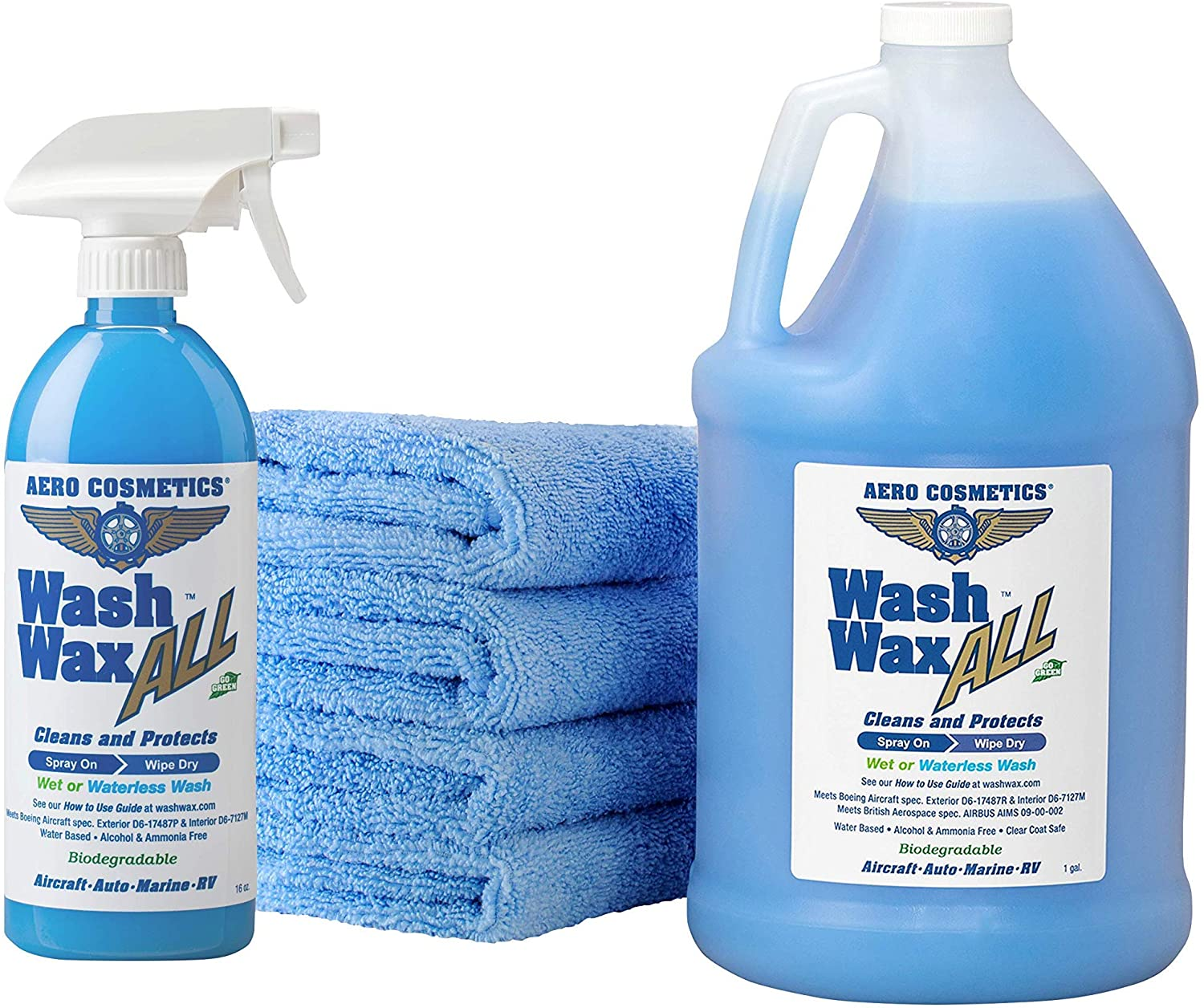 Wet Sale special price or Waterless El Paso Mall Car Wash Wax Kit 144 Aircraft Quality for y oz.