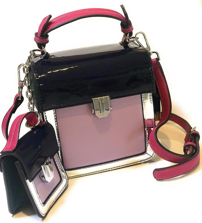 2 Women Bags Designer Panelled Square Shoulder Crossbody Bags