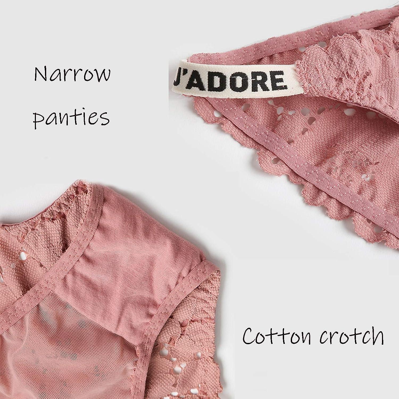 Color : Gray, Size : Small Blanc Gris Short Dentelle Noir Rose Violet sous-v/êtements pour Dames de Coton /à Hauteur Basse WXYZ Culottes Femmes Dentelle Bikini Mesdames Culotte