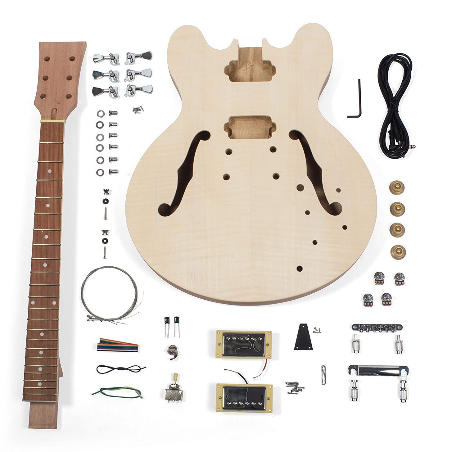 StewMac Build Your Own DIY 335-Style Electric Guitar Kit