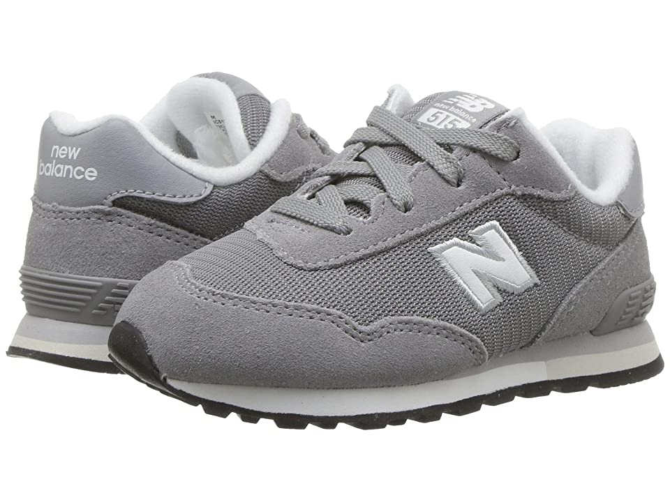 New Balance Kids IC515v1 (Infant/Toddler) (Grey/White) Boys Shoes
