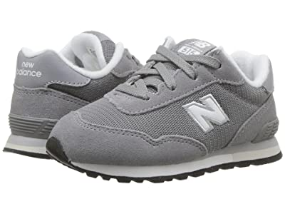 New Balance Kids IC515v1 (Infant/Toddler) (Grey/White) Boys Shoes
