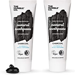 Sponsored Ad - The Humble Co. Natural Fluoride Toothpaste (2 Pack) - Eco-Friendly, Vegan for Your Everyday Oral Care - Den...