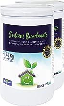 Nortembio Bicarbonato de Sodio 2x1.43kg, Insumo Ecológico de Origen Natural, Libre de Aluminio, EBook Incluido.
