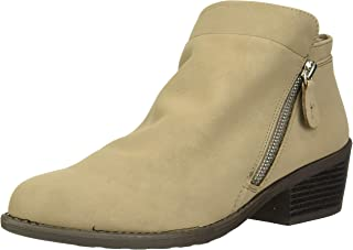 Easy Street Women's Gusto Comfort Bootie Ankle Boot, Taupe Matte, 6 2W US