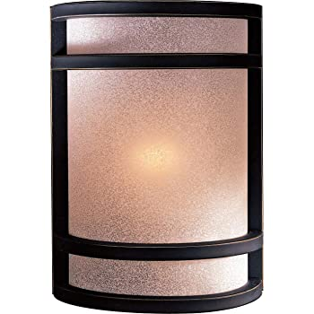 Minka Lavery 1 Light Wall Sconce Dark Restoration Bronze 348-37B