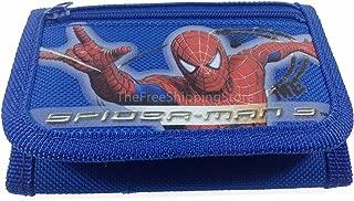 Marvel Spiderman Blue Tri-fold Wallet